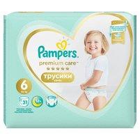 PAMPERS Premium Care Pants Pieluchomajtki rozmiar 6 (15+ kg)