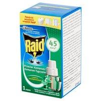 RAID Przeciw komarom z olejkiem eukaliptusowym Płyn owadobójczy Zapas