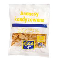 ECO+ Ananasy kandyzowane