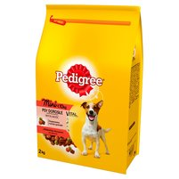 PEDIGREE Vital Protection Mini <10 kg Psy Dorosłe z wołowiną i warzywami Karma pełnoporcjowa