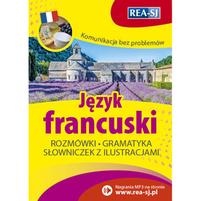 REA Język francuski. Rozmówki, gramatyka, słowniczek z ilustracjami (okładka miękka)