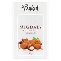 BAKAL Migdały w czekoladzie deserowej z cynamonem