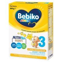 BEBIKO 3 Mleko modyfikowane dla dzieci powyżej 1. roku życia o smaku waniliowym (2 x 400 g)