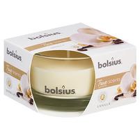 BOLSIUS Świeca zapachowa w szkle Wanilia (14h palenia)