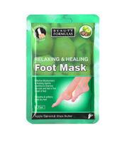 Beaty Formulas Relaxing & Healing Foot Mask  Relaksująco-odżywcza maska na stopy