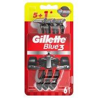GILLETTE Blue3 Edycja Red&White Jednorazowe maszynki do golenia