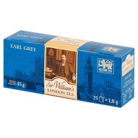 SIR WILLIAM'S London Tea Earl Grey Herbata czarna aromatyzowana (25 tb.)