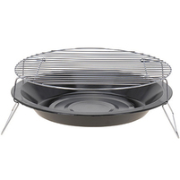 BBQ Barbecue Okrągły grill campingowy 36 cm