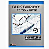 OK OFFICE Blok Biurowy A5/50 Kartek