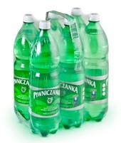 PIWNICZANKA Naturalna woda mineralna średnionasycona CO2 (6x1,5L)