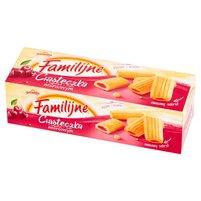 FAMILIJNE Ciasteczka z nadzieniem o smaku wiśniowym