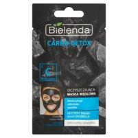 BIELENDA Carbo detox Oczyszczająca maska węglowa do cery suchej i wrażliwej
