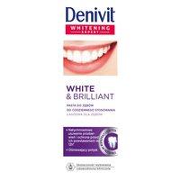 DENIVIT White & Brilliant Pasta do zębów do codziennego stosowania