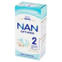 NAN OPTIPRO 2 Mleko następne w proszku dla niemowląt powyżej 6. m-ca