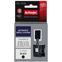ACTIVEJET System uzupełnień ARS-305BK zamiennik HP301 HP302 HP303 HP304 (3x6ml) czarny