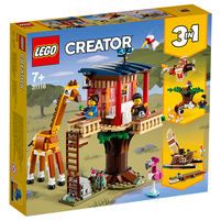 LEGO Creator Domek na drzewie na safari 31116 (7+)