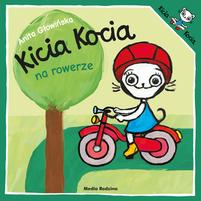 MEDIA RODZINA Kicia Kocia na rowerze (okładka miękka)