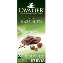 CAVALIER Belgijska czekolada mleczna z orzechami laskowymi