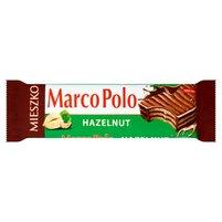 MIESZKO Marco Polo Hazelnut Wafelek przekładany kremem orzechowym w czekoladzie mlecznej