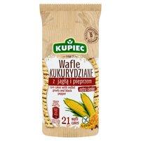 KUPIEC Wafle kukurydziane z jagłą i pieprzem (21 sztuk)