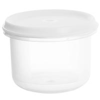PLAST TEAM Pojemnik na żywność Margerit okrągły 0,25L biały