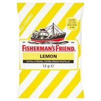 FISHERMAN'S Friend Lemon Pastylki o smaku cytrynowo-mentolowym