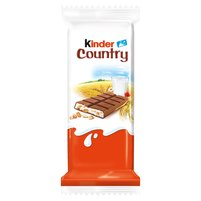 KINDER Country Czekolada mleczna z nadzieniem mlecznym i zbożami