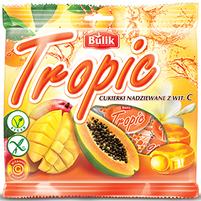 BULIK Tropic Cukierki nadziewane z witaminą C