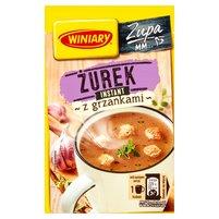 WINIARY Smaczna Zupa Żurek z grzankami
