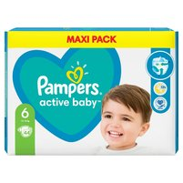PAMPERS Active Baby Pieluszki Rozmiar 6 (13-18 kg)