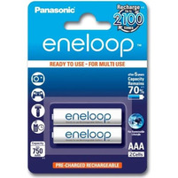 PANASONIC Eneloop Akumulator R03 AAA 800mAh BK-4MCCE/2BE