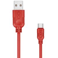 EXC Kabel USB - USB-C WHIPPY 2m czerwony