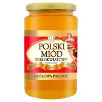 CD Królowa Pszczół Polski Miód wielokwiatowy nektarowy