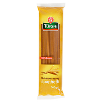 WIODĄCA MARKA Turini Makaron razowy spaghetti