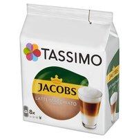 TASSIMO Jacobs Latte Macchiato Classico Kawa mielona (8 kaps.) i mleko (8 kaps.)