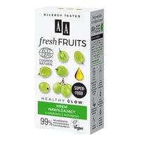 AA Fresh Fruits krem nawilżający z olejkiem z winogron NATURAL