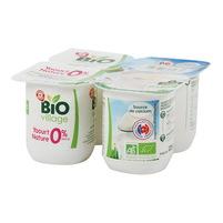 WIODĄCA MARKA Jogurt naturalny BIO (4x125g)