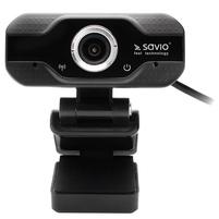 SAVIO Kamera Internetowa USB Full HD CAK-01
