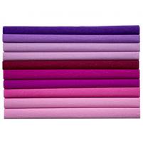HAPPY COLOR Bibuła marszczona różowo-fioletowe kolory