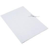 ARTSEZON Teczka biała A4 wiązana