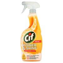 CIF Power & Shine Przeciw tłuszczowi Spray