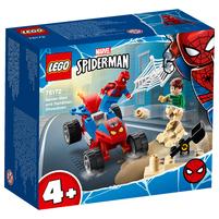 LEGO Super Heroes Pojedynek Spider-Mana z Sandmanem 76172 (4+)