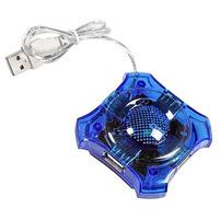 ESPERANZA Hub USB 2.0 EA150G 4 gniazda niebieski