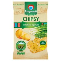 PRZYSNACKI Chipsy o smaku cebulka dymka