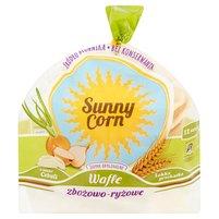 SUNNY CORN Wafle zbożowo-ryżowe cebula