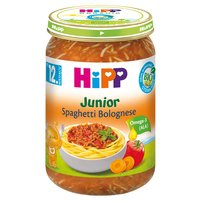 HiPP BIO Junior Spaghetti Bolognese po 12. miesiącu