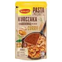 WINIARY Pasta z pomysłem na... kurczaka z marchewką w sosie curry