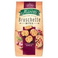 MARETTI Bruschette Pieczone krążki chlebowe o smaku czosnku
