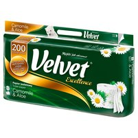 VELVET Excellence Rumianek i Aloes Papier toaletowy
