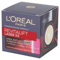 L'Oréal Paris Revitalift Laser X3 Krem Anti-Age głęboka regeneracja na dzień